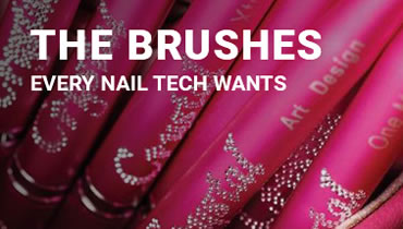 The brushes every nail tech wants