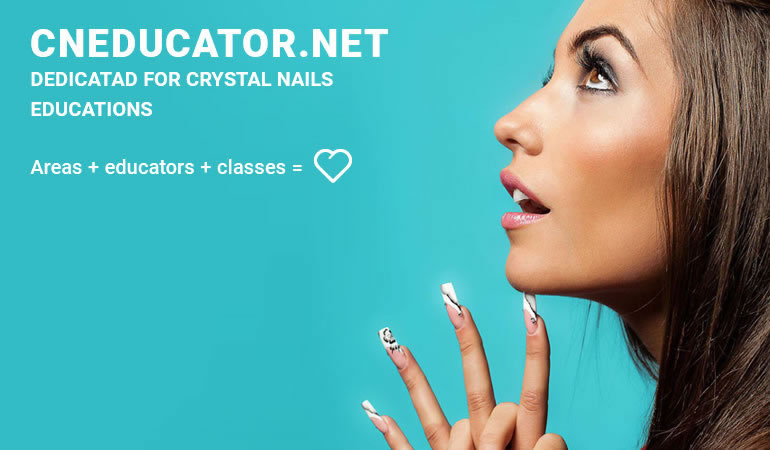 cneducator.net dedicatad for crystal nails  educations  Areas + educators + classes =
